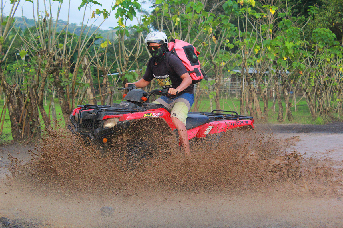 4 hour ATV tour in Costa Rica
