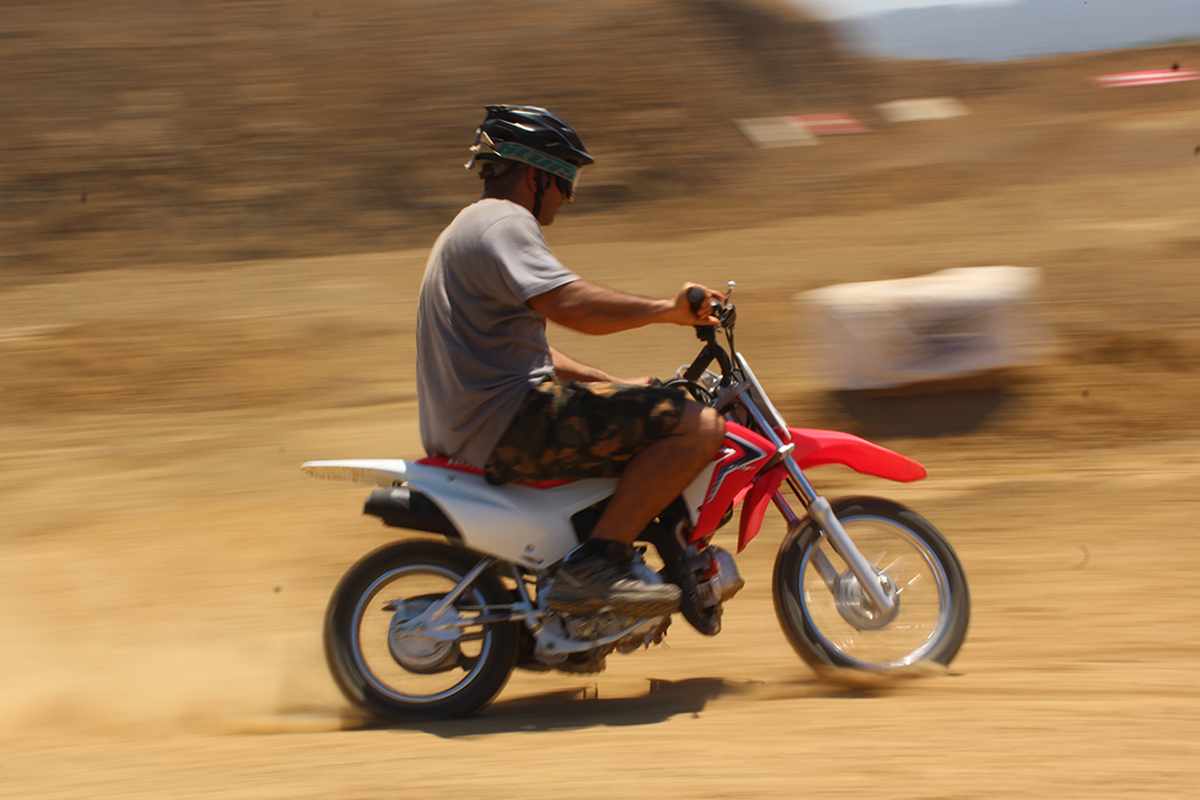 Mini bike racing track tour in Costa Rica